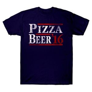 WOMEN'S SHIRT PIZZA AND BEER 2016 2X